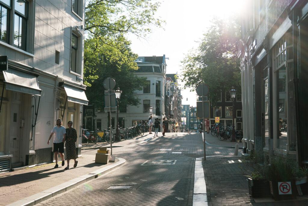 9 straatjes summertime Amsterdam