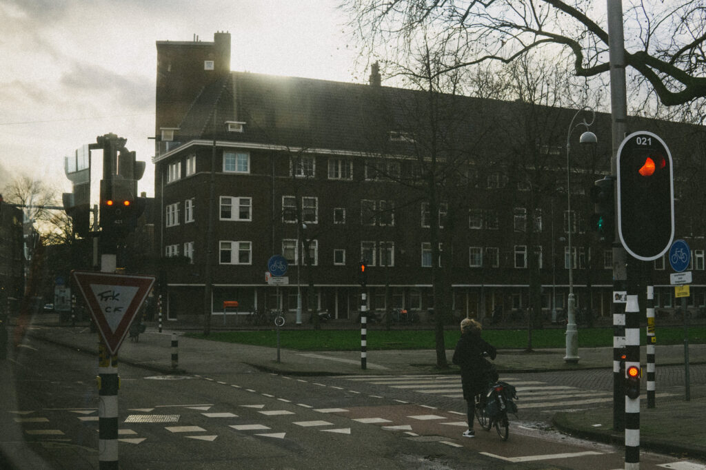 Moody Amsterdam on a winter afternoon