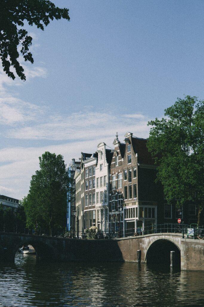 Amsterdam center canals