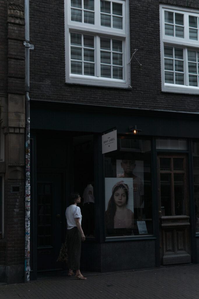 Gray label store Amsterdam, 9 straatjes