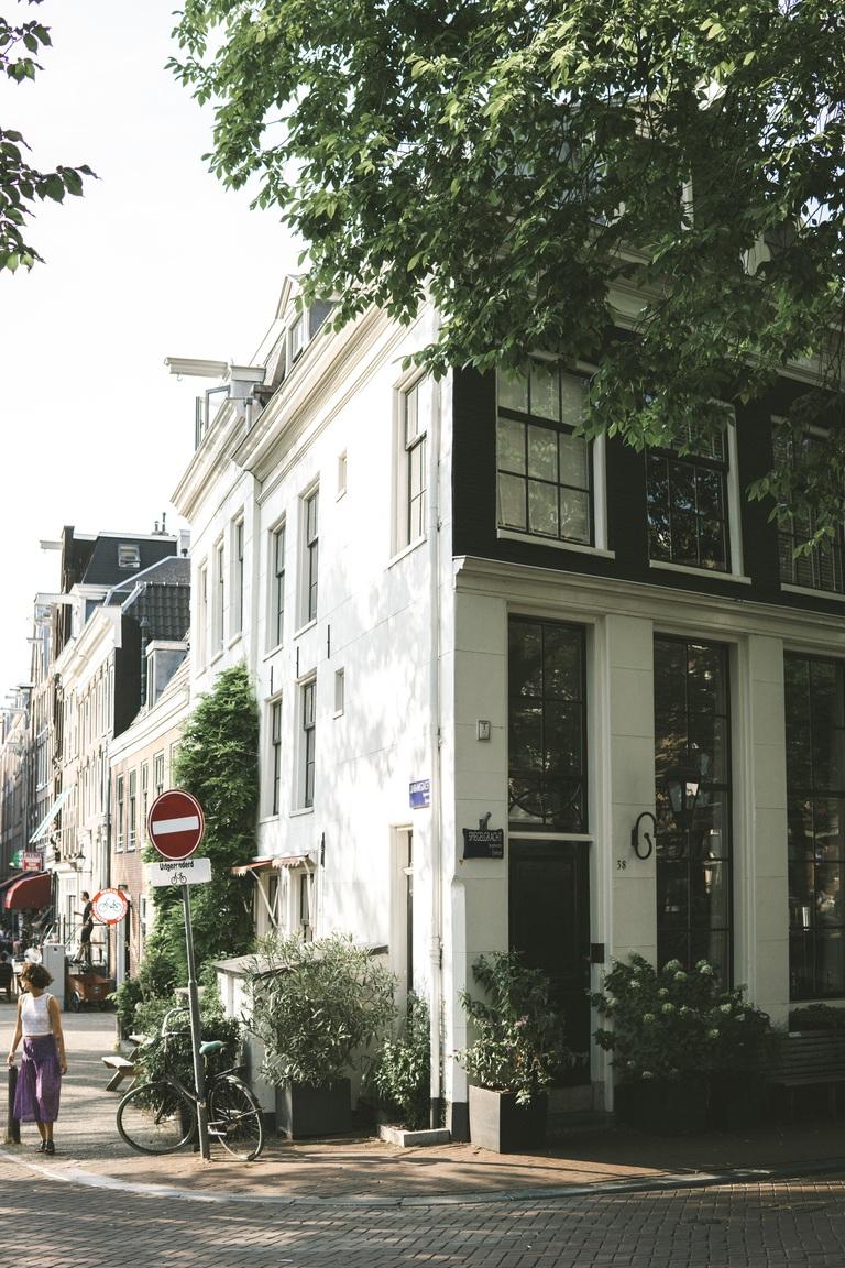 Prinsengracht, Amsterdam summertime