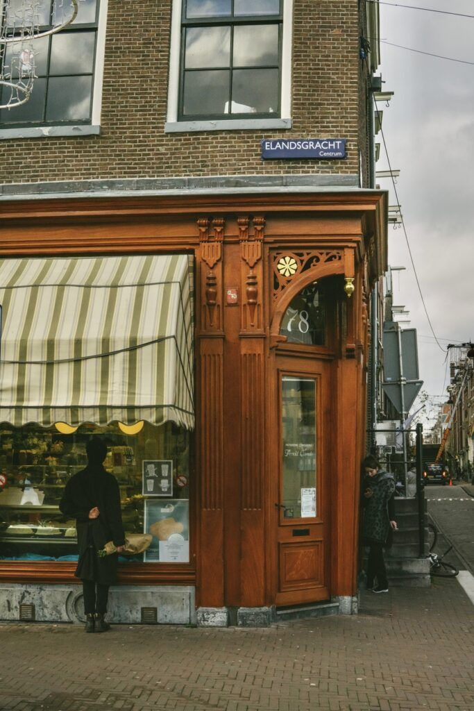 missed-connections patisserie cake shop Amsterdam