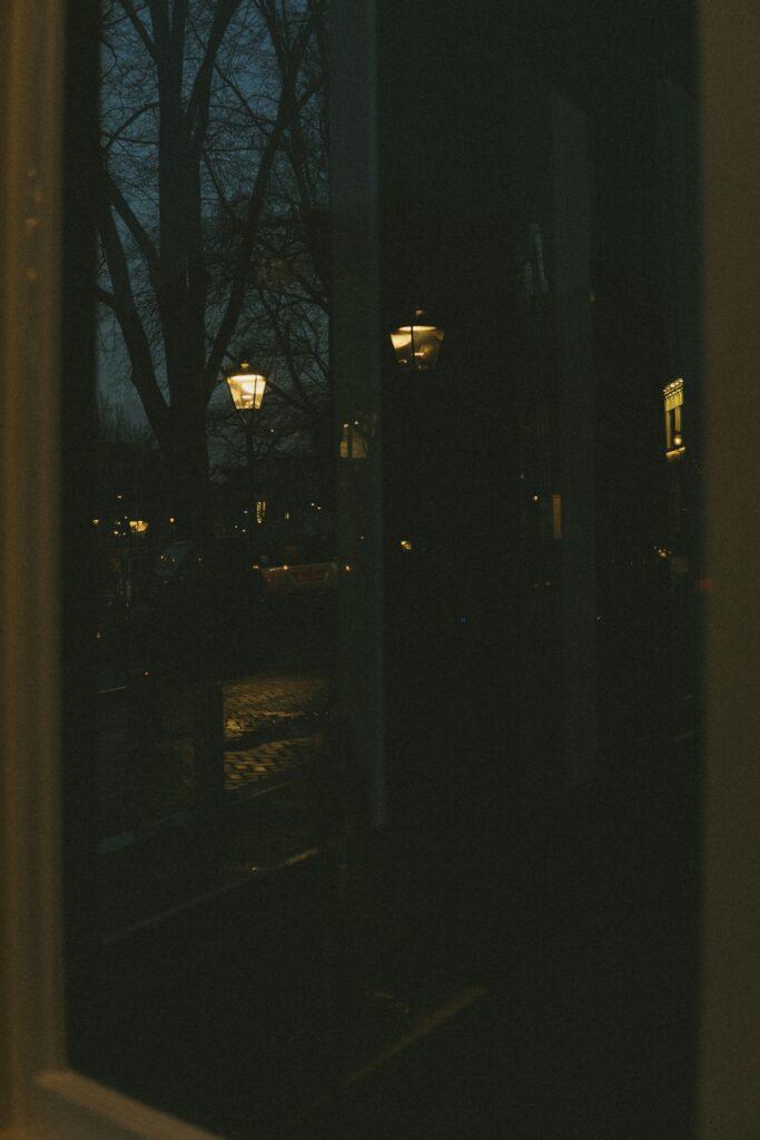 street lamps Amsterdam