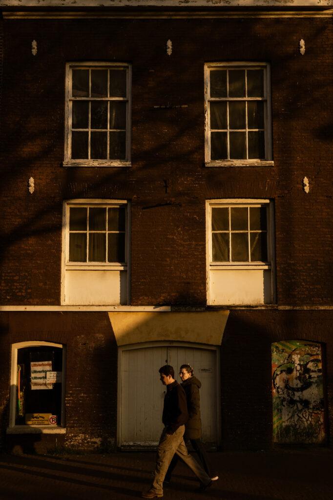 sunset city strolls in Amsterdam