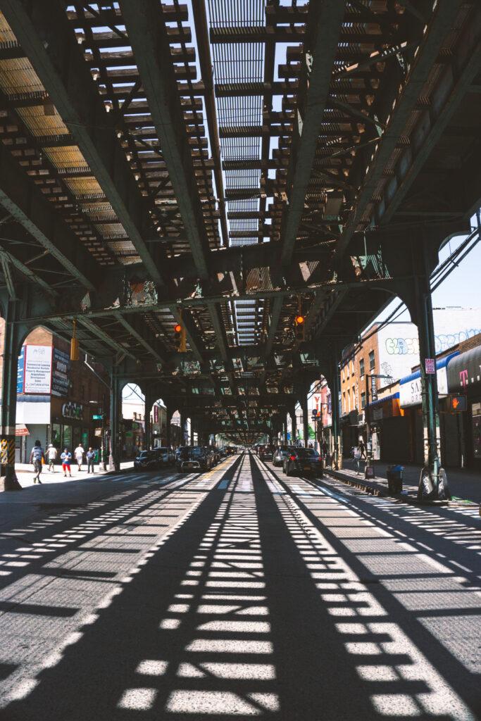 Brooklyn's above ground subway