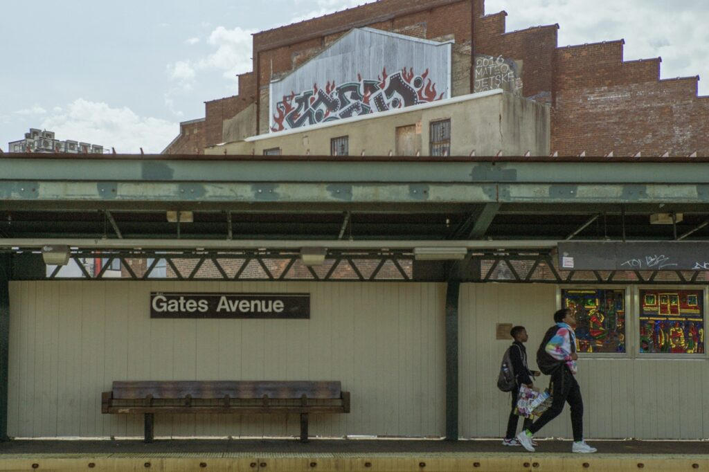 Gates Avenue in Bed-Stuy Brooklyn