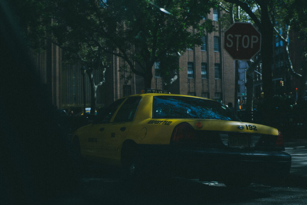 airport taxi in New York