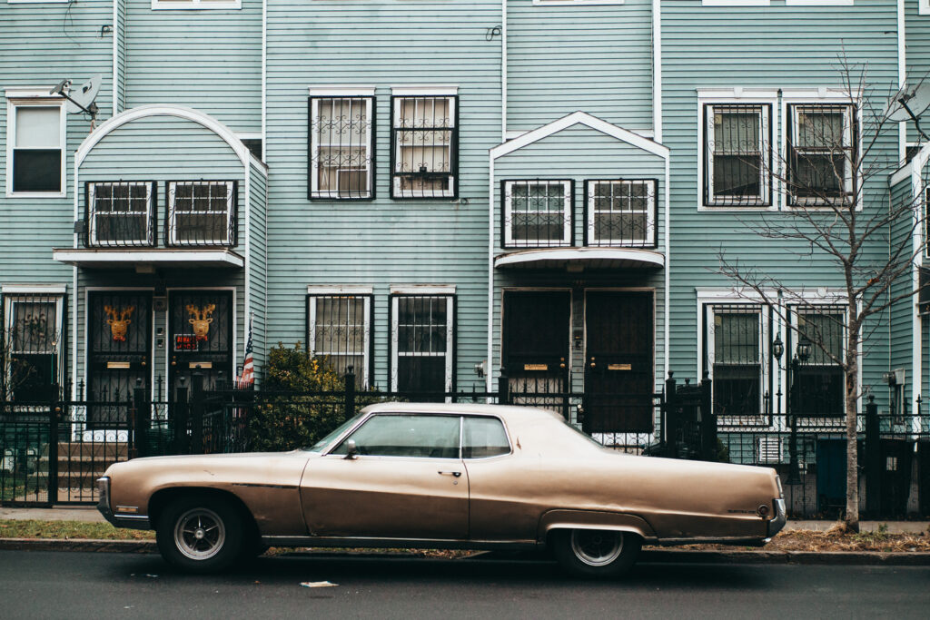brown Buick Electra Bed-Stuy