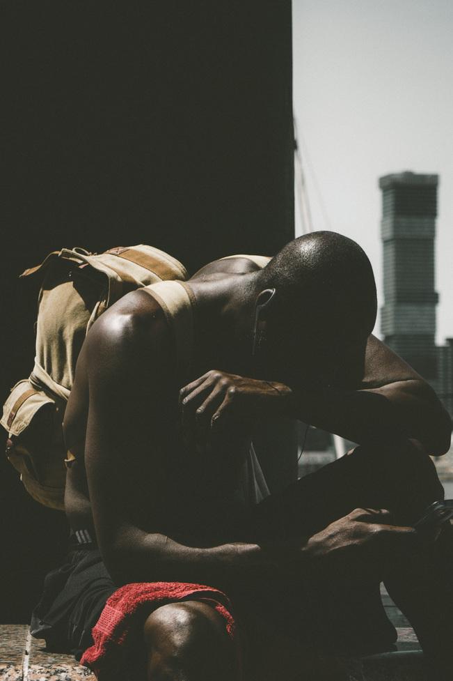 gorgeous black man