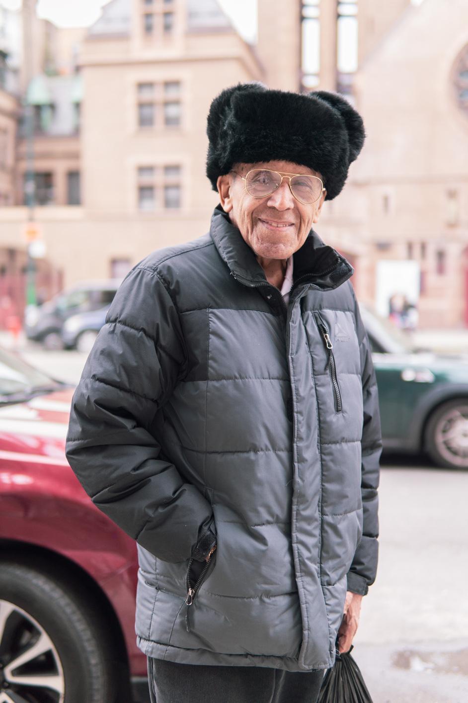 kind smiling man, NYC