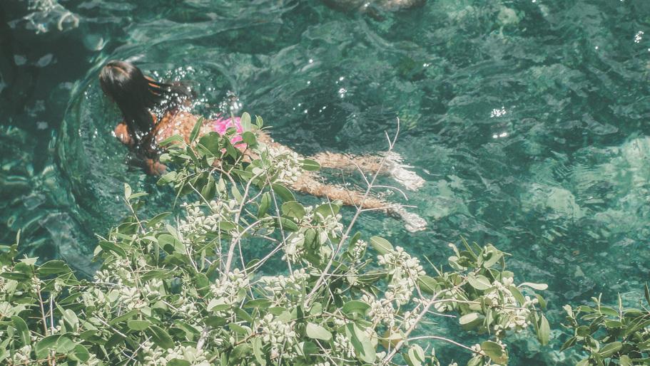 mermaid child, Holbox